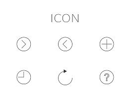 icon设计_线性