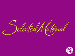 Selected material|字体设计