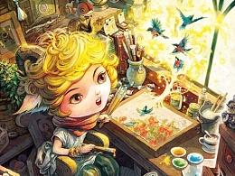 【童画世界 by 雪娃娃】童心童绘
