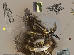 传奇世界3 弩炮概念设定