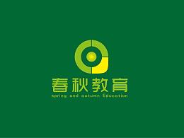 logo设计 绿色logo设计 教育logo设计 标志设计
