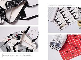 独立设计帆布袋展示