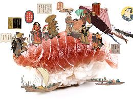 寿司的正确吃法