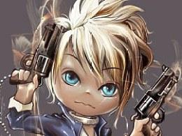 金发小枪手
