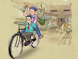 《口述历史》H5宣传插画 by 超超的青葱