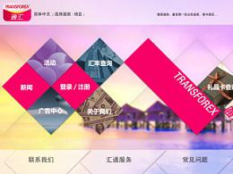 win8菱形风格网页设计