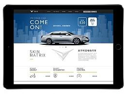Skio Design Proposal 网页设计(临摹作品)