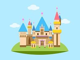Castle_扁平化