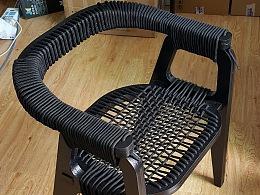 自制小板凳,有点萌。