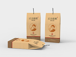 正方菇娘logo和包装(设计合集)