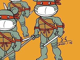 漫画提醒您预防新型病毒要注意以下六条……