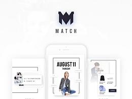 Match App Design