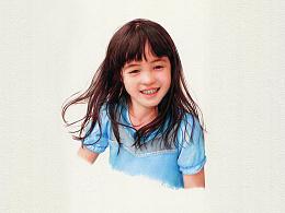 彩铅作品-Poppy-祥雷