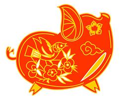 传统文化元素设计之猪年主题:pig:
