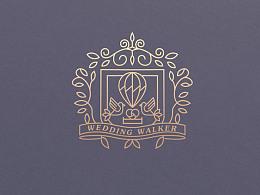 婚行者-旅行婚礼机构LOGO设计