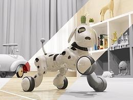 天铭 智能玩具机器狗包装
