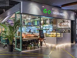 餐饮空间设计·G·O沙拉广州花城汇店