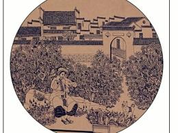 《梦古城》—装饰画