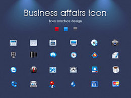 Business affairs icon 24枚
