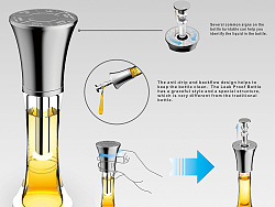 Nano-technology leaking-proof boottle