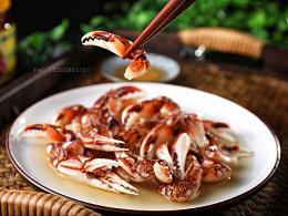 宁波舟山海鲜海产品冰鲜礼盒泥螺蟹电商拍摄