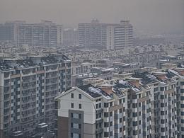 冬 日落 北京