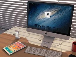 iMac & iPhone 锁屏壁纸
