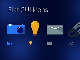 Flat GUI Icons