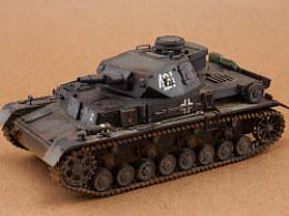 二战德国4号D型坦克