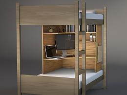 床上桌面系统再设计