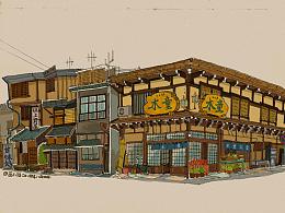 日式建筑习作