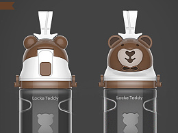 小熊形象水杯!以成品!