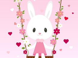 快乐小白兔