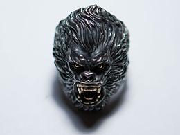 《零十原创》猿王戒 狂怒戒指