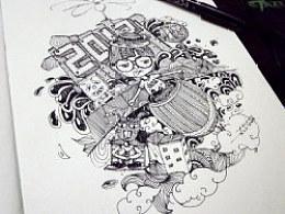 没有灵感的时候,就让我们一起涂鸦吧。