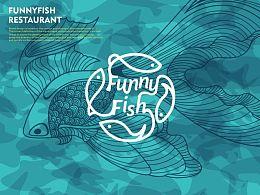 「FunnyFish逗鱼」餐厅品牌设计