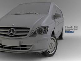 Mercedes-Benz专业级MPV威霆Vito
