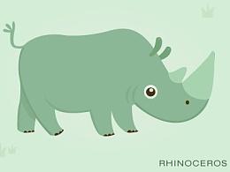 动物世界 插画   小动物