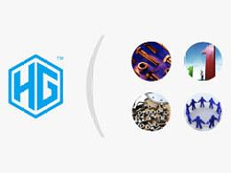 自动化VI设计 科技VI设计 自动化标志设计 科技标志设计  机械VI设计--万丰品牌设计机构