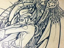 【手绘插图】近期几张无意识的画