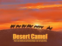 原创插画  🐫沙漠骆驼