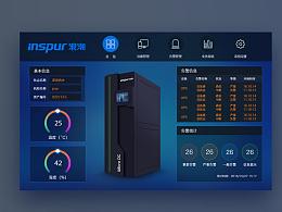平板 UI 监控系统 数据中心