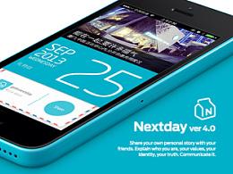 NEXTDAY iOS App Design