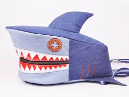 鲨鱼包包制作1—鲨鱼背包