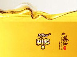 利多茶油包装设计