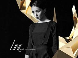 LINC CHIC女装品牌VI重塑