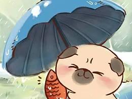 这是一条自带节奏的雨中情诗