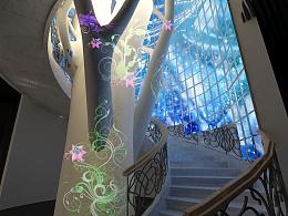 艺术馆规划设计效果图