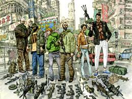 金正基唯一中文版连载漫画《SPY GAMES間諜遊戲》