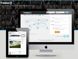 Freebao社交网站设计